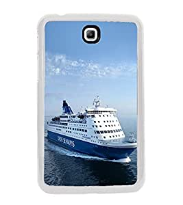 Ship on the Sea 2D Hard Polycarbonate Designer Back Case Cover for Samsung Galaxy Tab 3 8.0 Wi-Fi T311/T315, Samsung Galaxy Tab 3 8.0 3G, Samsung Galaxy Tab 3 8.0 LTE