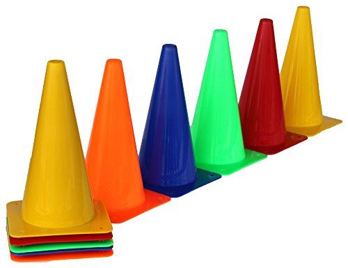 10er Sets Markierkegel 30 cm – verschiedene Farben
