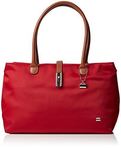 La Bagagerie Shop N, Damen Tasche Rot (Bordeaux)