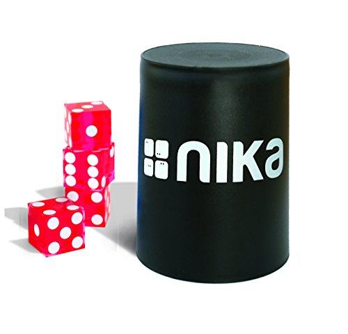 nika Dice Stacking Basic Set Red - Stacking-würfel