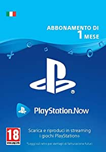 PlayStation Now - Abbonamento 1 Mese | Codice download per PS4 - Account italiano