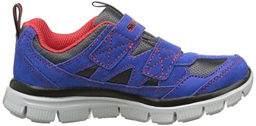 Skechers - Flex Advantage Master Explore, Sneaker Bambino Blu (Bleu (Ryrd Royal/Rouge))
