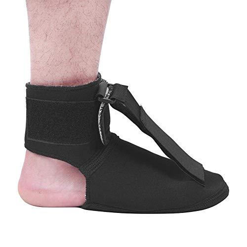 Plantar Fasciitis Nacht Splint (Fuß Tropfen Klammer Nacht Plantar Fasciitis-Schlaf-Stützkorrektor für den linken und rechten Fuß erleichtert Symptome der Achillessehnenentzündung liefert Unterstützung für Fersenschmerz (L))