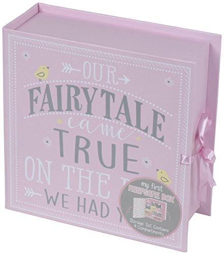 Tri-Coastal Design - Erste Baby-Erinnerungsbox mit 9 Schubladen zur Aufbewahrung besonderer Erinnerungsstücke und Schätze eines Kindes