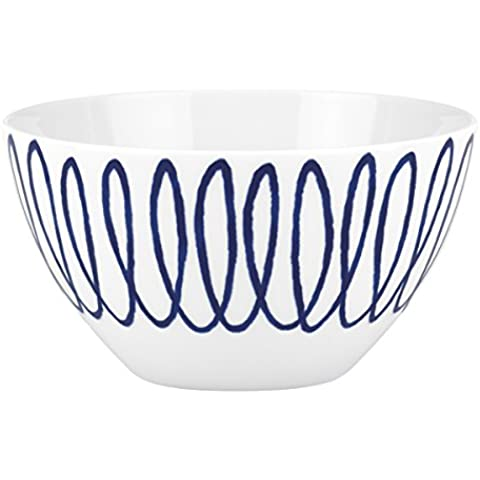 Lenox China kate spade Charlotte Street East Squiggle Soup/ Cereal Bowl by Lenox