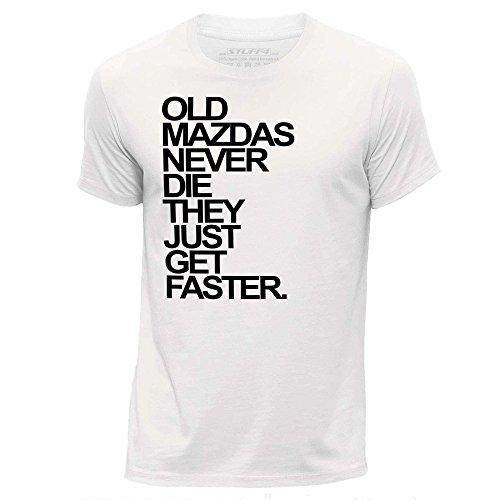 stuff4-herren-gro-l-wei-rundhals-t-shirt-old-mazdas-mazda-never-die