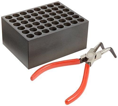 Witeg Heizblock BLT248 48 Löcher, Ø12x48mm, leicht konischer Boden, für Blockthermostat HB-48/-96/R-48