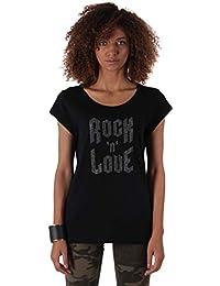 30cc6280c4a Kaporal - Tee-Shirt chiné avec Application - Elba - Femme