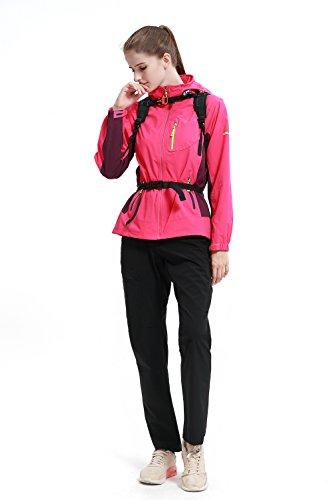 Diamond Candy Zaino da Ciclismo Outdoor Donna e Uomo con Protezione Impermeabile per Escursionismo/Equitazione/Alpinismo/Viaggio/Bici/Bicicletta/Corsa, 12 litri Viola Nero