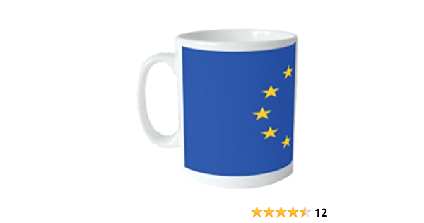 European Union Flag Mug Amazon Co Uk Kitchen Home