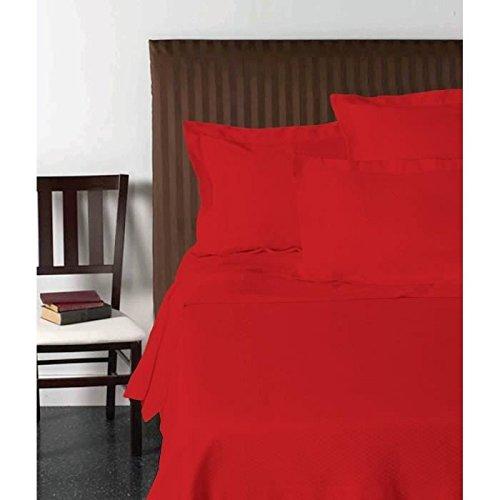 VISION Drap plat 270x300 cm rouge