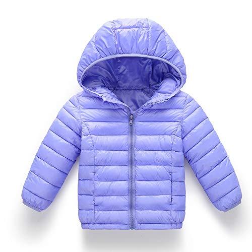 (Modaworld Kinder Baby Mädchen Jungen Winter Volltonfarbe für 0-14 Jahre Outdoor Jacke mit Kapuzen Warme Winterjacke Verdicken Outwear Daunenjacke scherzt Baumwolljacke-Mantel Herbst- Kinderkleidung)