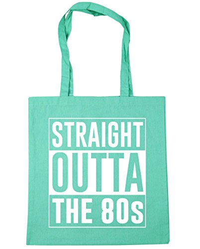 Straight Outta the 80s Tote Shopping Bag in Many Colours
