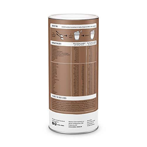 Sheko Diät Shake Schokolade Made in Germany 25er BCM Spar-Paket Premium Eiweißpulver, natürliche Zutaten Protein-Shake als Mahlzeitersatz abnehm-shake Protein-shake für Eiweiß Shaker