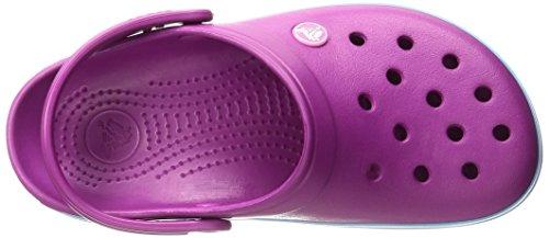 Crocs Crocband - Sabots - Mixte Adulte Violet (Vibrant Violet)