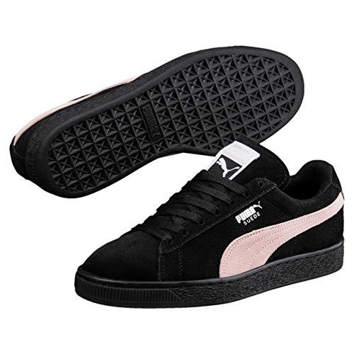 Puma Damen Suede Classic WN's Sneaker, Schwarz Black-Pearl, 40 EU