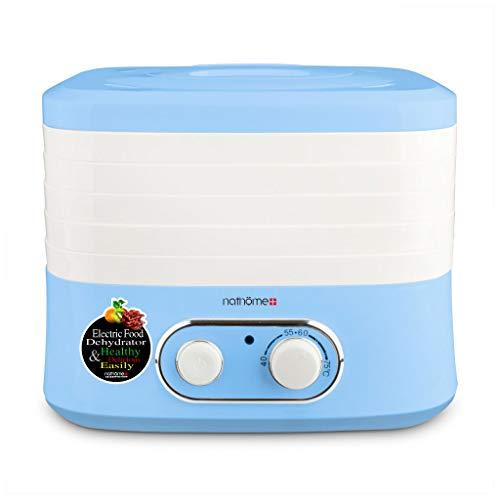 Haushaltsnahrungsmittelkonservierungsmaschine Nahrungsmittelentwässerungsapparat, elektrischer konstanter Temperatur 5 Schicht-Plastikbehälter-Haushaltsentwässerungsapparat-Katzen und Hundesnack-Dehyd