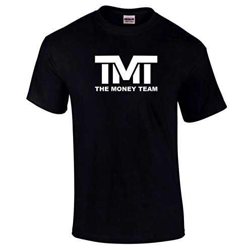 The Money Team Mayweather TMT maymac Floyd Legend Gift T-Shirt - Black - Large