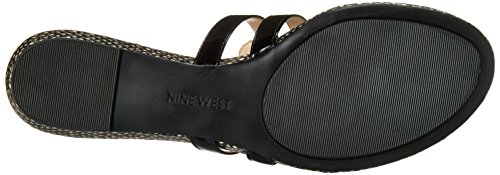 Nine West Outside Synthetic Kleid Sandale Black