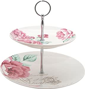 Arthur Wood Cupcake Stand Two Tier with Rosa Gift Box