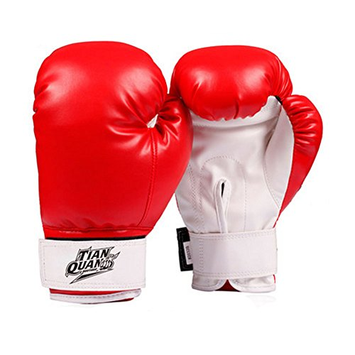 Child Boxen - Kickboxhandschuh volle Finger-Handschuhe -MMA ----- Red
