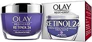 Olay Regenerist Retinol24 Crema Hidratante de Noche sin Fragancia para una Piel Suave y Radiante con Retinol y