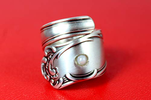 Rokoko Besteckschmuck Ring, Größe 60 (19,1)