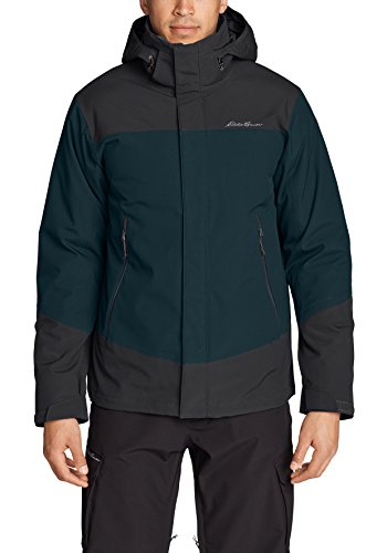 Eddie Bauer Herren Powder Search 2.0 3-in-1 Daunenjacke, Gr. S, Nordischblau