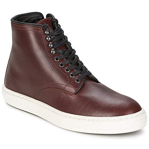 Swear London OLLY6, Herren Boots, Rot (OXBLOOD PULL UP/WHITE SOLE), EU 45 (Swear London Schuhe)