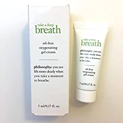 PHILOSOPHY Take a Deep Breath Oil-Free Oxygenating Gel Cream 0. 17oz