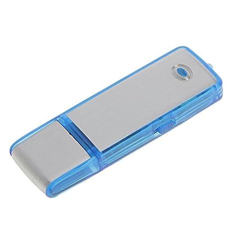 MagiDeal 8 GB USB-Festplatte Stift Spion-Laufwerk Digitale Audio-Voice-Recorder 9 Stunden