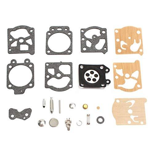 Funnyrunstore K20-WAT Vergaser Reparatur Kit Rebuild Werkzeug Dichtung Set Für Walbro Motorrad Zubehör Ersatzteile Kraftstoff Vergaser Versorgung (Farbe: Mix farbe)