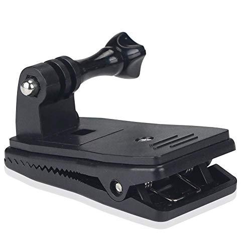 Debe tenerlo para su GoPro   El soporte giratorio con abrazadera giratoria de 360 ° es simplemente el accesorio que más debe tener para su GoPro. Ángulo del punto de vista para tomar videos y tomas épicas en incluso más ángulos que antes, genial par...