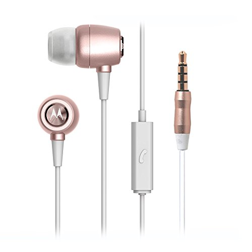 Motorola Metal Headphones (Rose Gold)