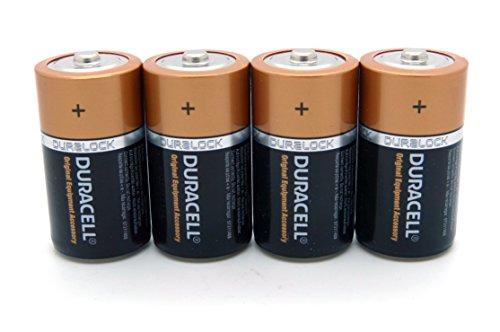 4x Duracell 1,5 V Baby C/ LR14/ AM2/ 4014/Alcaline Batterie