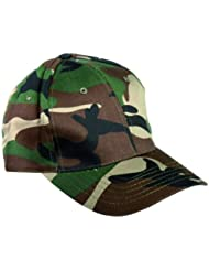 CASQUETTE BASEBALL CAMO CAMOUFLAGE WOODLAND REGLABLE MILTEC 12315020 AIRSOFT SPORT