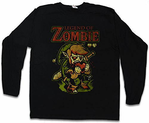 d3ab1f68a Urban Backwoods Legend of Zombie T-Shirt à Manches Longues Long Sleeve -  Tailles S