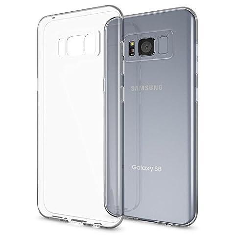 Samsung Galaxy S8 Plus Coque Protection de NICA, Housse Silicone Portable Premium Case Cover Ultra-Fine Transparente, Cristal Clair Anti-Choc Souple Mince Gel Bumper Etui pour Telephone S8-Plus Phone