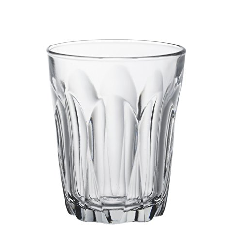 Duralex Provence Wasserglas 160ml, ohne Füllstrich, 6 Stück