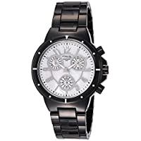 Q&Q Women's Silver Dial Stainless Steel Band Watch - DA89J001Y