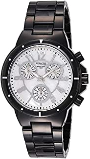 Q&Q Women's Silver Dial Stainless Steel Band Watch - D