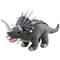 X J Toys 200033 32 cm Triceratops Plush Toy
