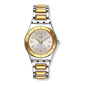 Swatch Irony Tribute To Myself Silver Dial Stainless Steel Ladies Watch YLS192G