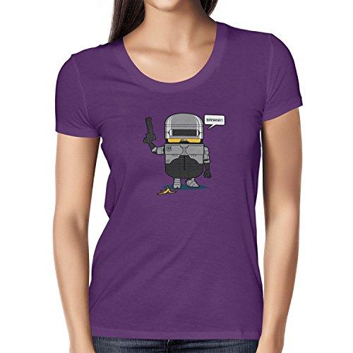 TEXLAB - Banana Cop - Damen T-Shirt Violett
