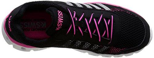 K-Swiss Performance X Lite Athletic Cmf, Chaussures de fitness femme Noir - Schwarz (BLACK/NEONPINK)