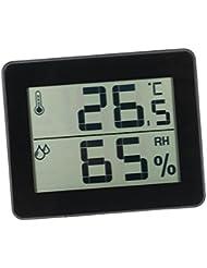 Gazechimp Mini Thermomètre Hygromètre Intérieur Digital avec Ecran LCD pour Maison Bureau