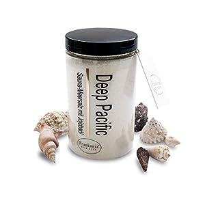 Saunasalz Peeling 400g – Meersalz mit natürlichem Jojobaöl – Dusch- und Körperpeeling Body Scrub mit pflegenden Mineralstoffen für alle Hauttypen
