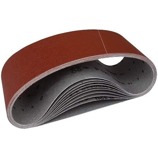 100 Schleifbänder 75x533 Schleifband Bandschleifpapier Korn 60