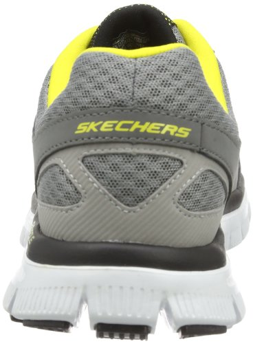 Skechers Flex AdvantageMaster Plan, basso uomo Grigio (Grau (GYYL))
