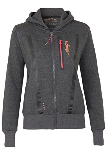 Geographical Norway Sweat Fitness Lady Dark Grey